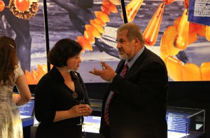 Refat Chubarov in Conversation with the Lithuanian Ambassador to Ukraine.