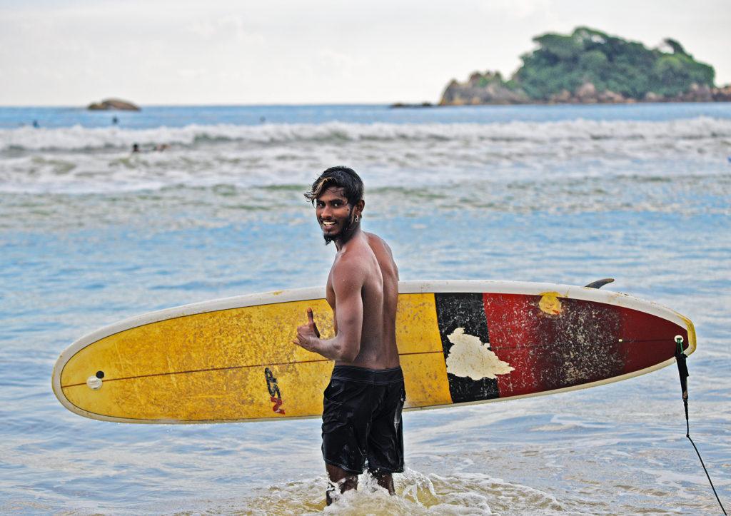 Surfinstruktör Weligama, Sri Lanka